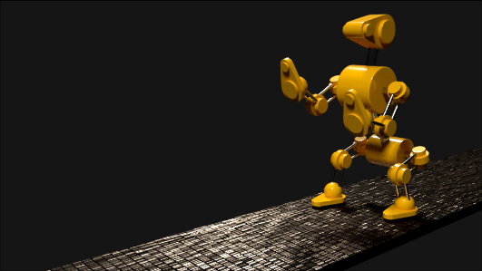 Robot Dog Animation
