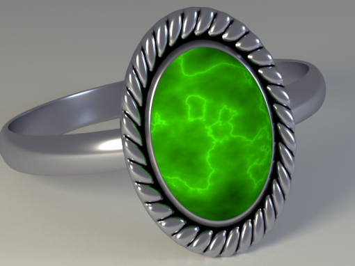 Photorealistic Ring